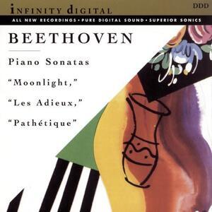 Moonlight, Les Adieux & - CD Audio di Ludwig van Beethoven