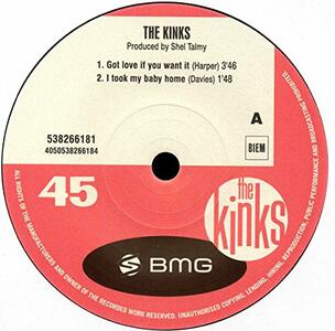 Got Love if You Want it - Vinile 7'' di Kinks
