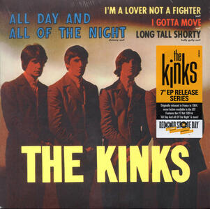 All Day and All of the Night - Vinile 7'' di Kinks