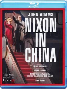 John Adams. Nixon in China (DVD + Blu-ray) - DVD + Blu-ray di John Adams