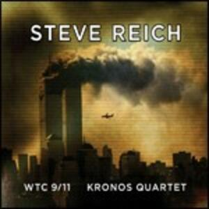 WTC 9/11 - Mallet Quartet - Dance Patterns - CD Audio + DVD di Steve Reich