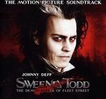Cover CD Colonna sonora Sweeney Todd: il diabolico barbiere di Fleet Street