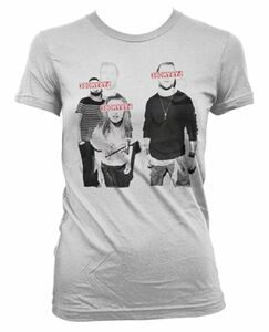 Idee regalo T-Shirt Donna Paramore. Eyes Covered Plastic Head