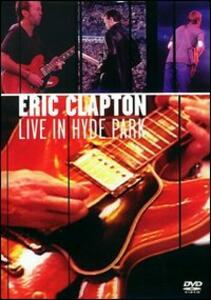 Eric Clapton. Live in Hyde Park 1996 - DVD