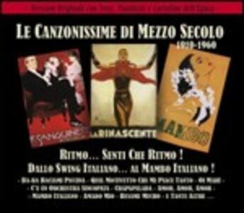 Ritmo...senti che ritmo! Dallo swing italiano al mambo italiano - CD Audio