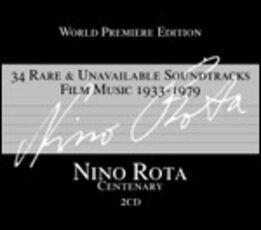 CD 34 Rare & Unavailable Soundtracks Film Music (Colonna Sonora) Nino Rota