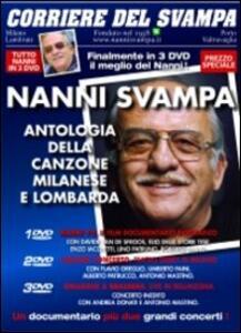 Nanni Svampa. Antologia della canzone milanese e lombarda. Corriere del Svampa (3 DVD) - DVD