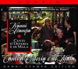 CD Canti d'osteria e di mala Nanni Svampa
