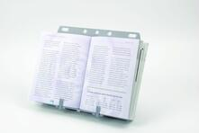 Fellowes Booklift porta documenti Plastica Argento