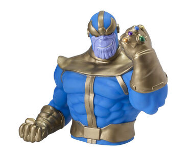 Idee regalo Salvadanaio Thanos. Bust Bank TimeCity