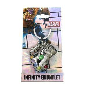 Idee regalo Portachiavi Thanos. Glove Colour in Peltro TimeCity