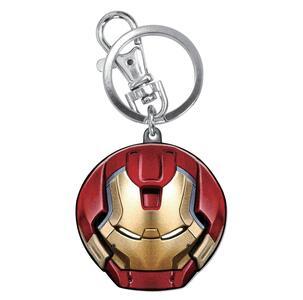 Portachiavi Avengers. Hulkbuster Head Colour in Peltro