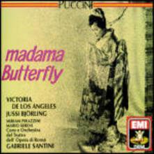 Madama Butterfly - CD Audio di Giacomo Puccini,Jussi Björling,Victoria De Los Angeles,Gabriele Santini,Orchestra del Teatro dell'Opera di Roma