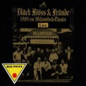 Live 1989 Med Fruende - CD Audio di Black Fooss