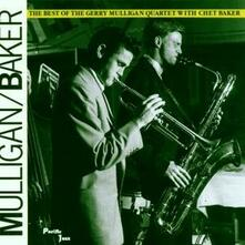 The Best of Gerry Mulligan with Chet Baker - CD Audio di Chet Baker,Gerry Mulligan