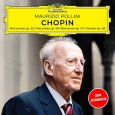 CD Notturni - Mazurke - Berceuse. Copia Autografata Fryderyk Franciszek Chopin Maurizio Pollini