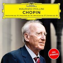 Notturni - Mazurke - Berceuse. Copia Autografata - CD Audio di Fryderyk Franciszek Chopin,Maurizio Pollini