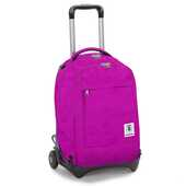 Cartoleria Zaino Trolley Invicta Plain. Fucsia Invicta