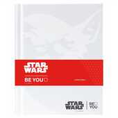 Cartoleria Diario BE-U Star Wars 2017-2018, 16 mesi Limited Edition. Yoda. Bianco Auguri Preziosi