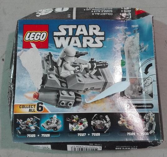 LEGO Star Wars (75126). First Order Snowspeeder