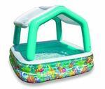 57470Np-Deluxe Pool Sun Shade Gonfiabili con Tetto