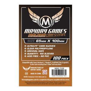 Buste Protettive Carte 65x100 pezzi mm (100 pezzi) - 2