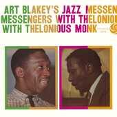 CD Art Blakey's Jazz Messengers with Thelonious Monk Art Blakey Jazz Messengers Thelonious Monk