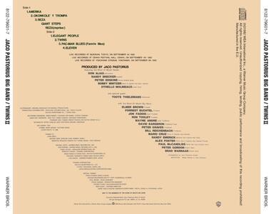 Twins II - CD Audio di Jaco Pastorius - 2