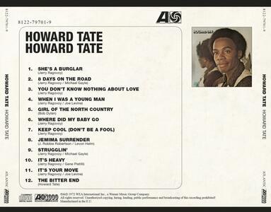 Howard Tate - CD Audio di Howard Tate - 2