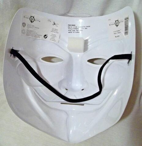 Maschera V per Vendetta - 4
