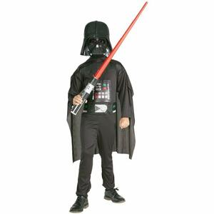 Kit Costume Darth Vader Star Wars Originale Bambino Small 3 - 4 Anni 116 cm