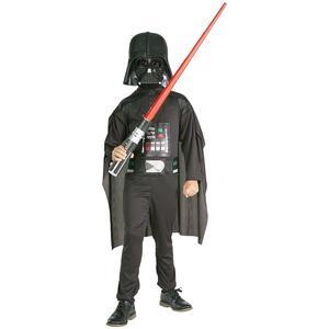Kit Costume Darth Vader Star Wars Originale Bambino Small 3 - 4 Anni 116 cm - 10