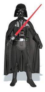 Kit Costume Darth Vader Star Wars Originale Bambino Small 3 - 4 Anni 116 cm - 12