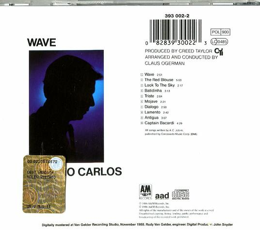 Wave - CD Audio di Antonio Carlos Jobim - 2