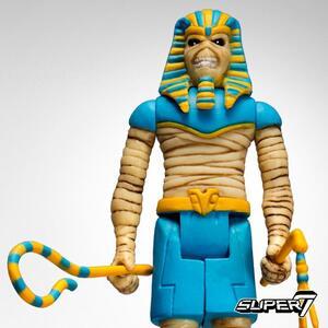 Funko Super 7 Reaction Iron Maiden Eddie Power Slave Vintage Retro Figure - 4
