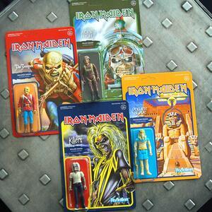 Funko Super 7 Reaction Iron Maiden Eddie Power Slave Vintage Retro Figure - 6