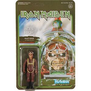 Funko Super 7 Reaction Iron Maiden Eddie Pilot Aces High Vintage Retro Figure - 2