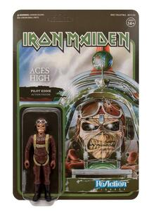 Funko Super 7 Reaction Iron Maiden Eddie Pilot Aces High Vintage Retro Figure - 5