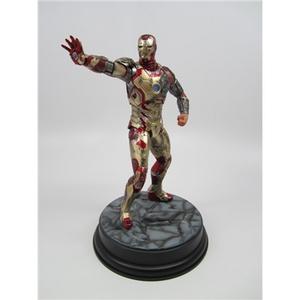 Giocattolo Action Hero Vignette. Iron Man 3 Mark XLII (Battle Damaged Version) (DR38118) Dragon 2