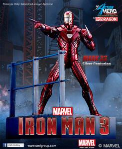 Action Hero Vignette. Iron Man 3. Mark 33 Silver Centurion Armor (DR38123)