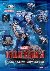 Giocattolo Action Hero Vignette. Iron Man 3. Mark 38 Igor Armor (DR38124) Dragon 0