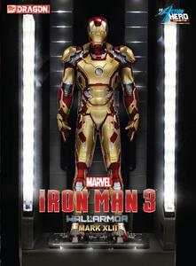 Action Hero Vignette. Iron Man 3. Hall of Armor Mk.XLII Multi-Poseable LED (DR38132)