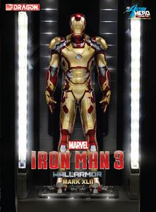 Giocattolo Action Hero Vignette. Iron Man 3. Hall of Armor Mk.XLII Multi-Poseable LED (DR38132) Dragon 0