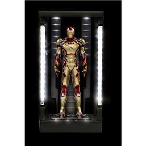 Action Hero Vignette. Iron Man 3. Hall of Armor Mk.XLII Multi-Poseable LED (DR38132) - 3