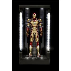 Giocattolo Action Hero Vignette. Iron Man 3. Hall of Armor Mk.XLII Multi-Poseable LED (DR38132) Dragon 1