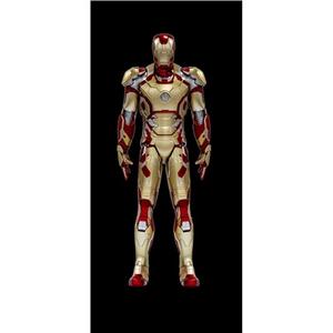 Giocattolo Action Hero Vignette. Iron Man 3. Hall of Armor Mk.XLII Multi-Poseable LED (DR38132) Dragon 2