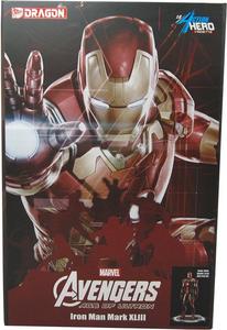 Giocattolo Action Hero Vignette. Avengers: Age of Ultron. Iron Man Mark XLIII Multi (DR38145) Dragon 0