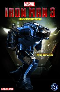 Giocattolo Model Kit. Iron Man 3 Mk.XXXVIII. Igor Armor (DR38334) Dragon 0