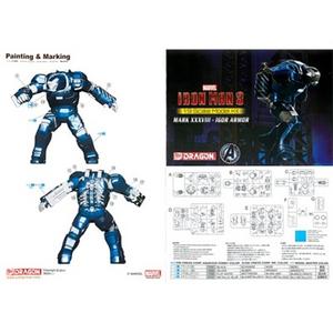Giocattolo Model Kit. Iron Man 3 Mk.XXXVIII. Igor Armor (DR38334) Dragon 2