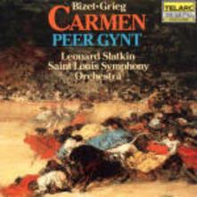 Carmen Suite / Peer Gynt Suite - CD Audio di Georges Bizet,Edvard Grieg,Leonard Slatkin,Saint Louis Symphony Orchestra